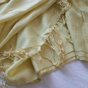 Yellow Pashmina Scarf
